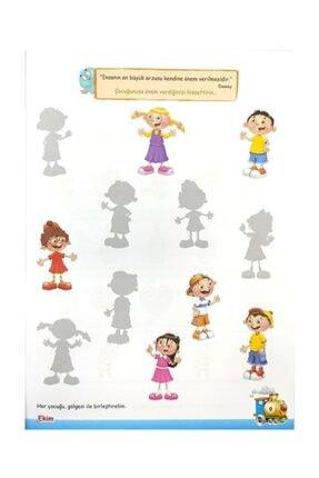 Temel 4 Yaş Mutlu Çocuklar Sokağı Okul Öncesi Eğitim Seti 2