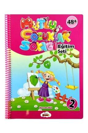 Temel 4 Yaş Mutlu Çocuklar Sokağı Okul Öncesi Eğitim Seti 4