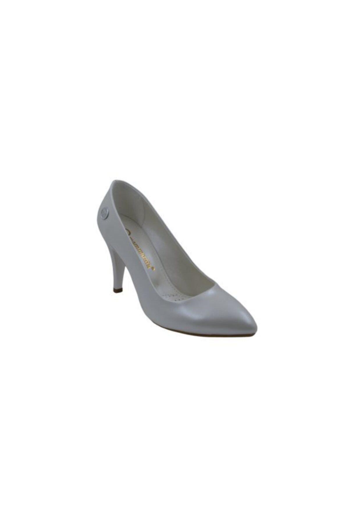 D20ya-3680-e Bayan Topuklu Ayakkabı - - Sedef - 37