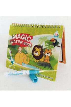 Magic Water Sihirli Boyama Kitabı Water Painting Intimate Sulu Boya Orman Diyarı Hayvanlar 0
