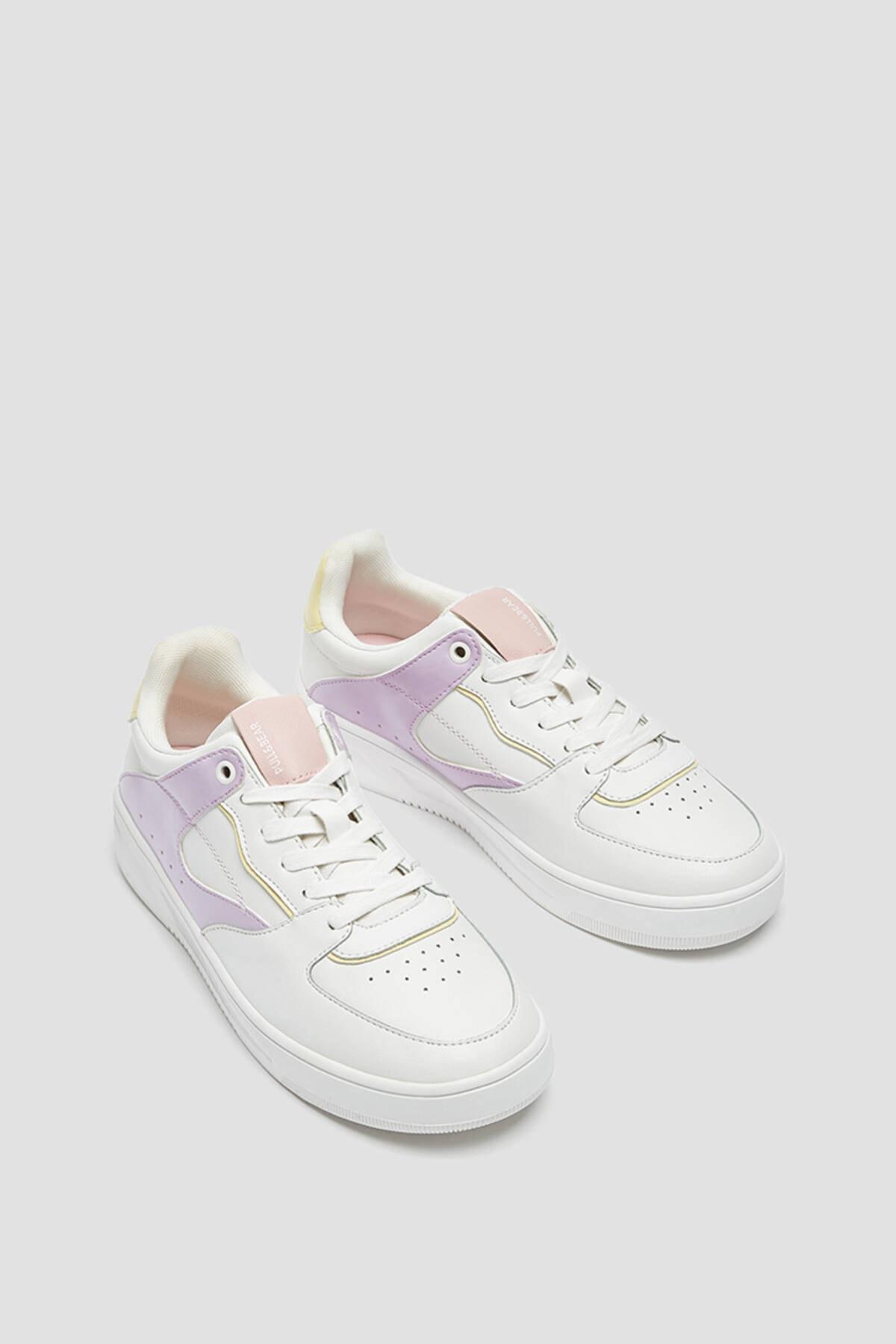 Pull & Bear Kadın Çok Renkli Spor Ayakkabı 11322640 0