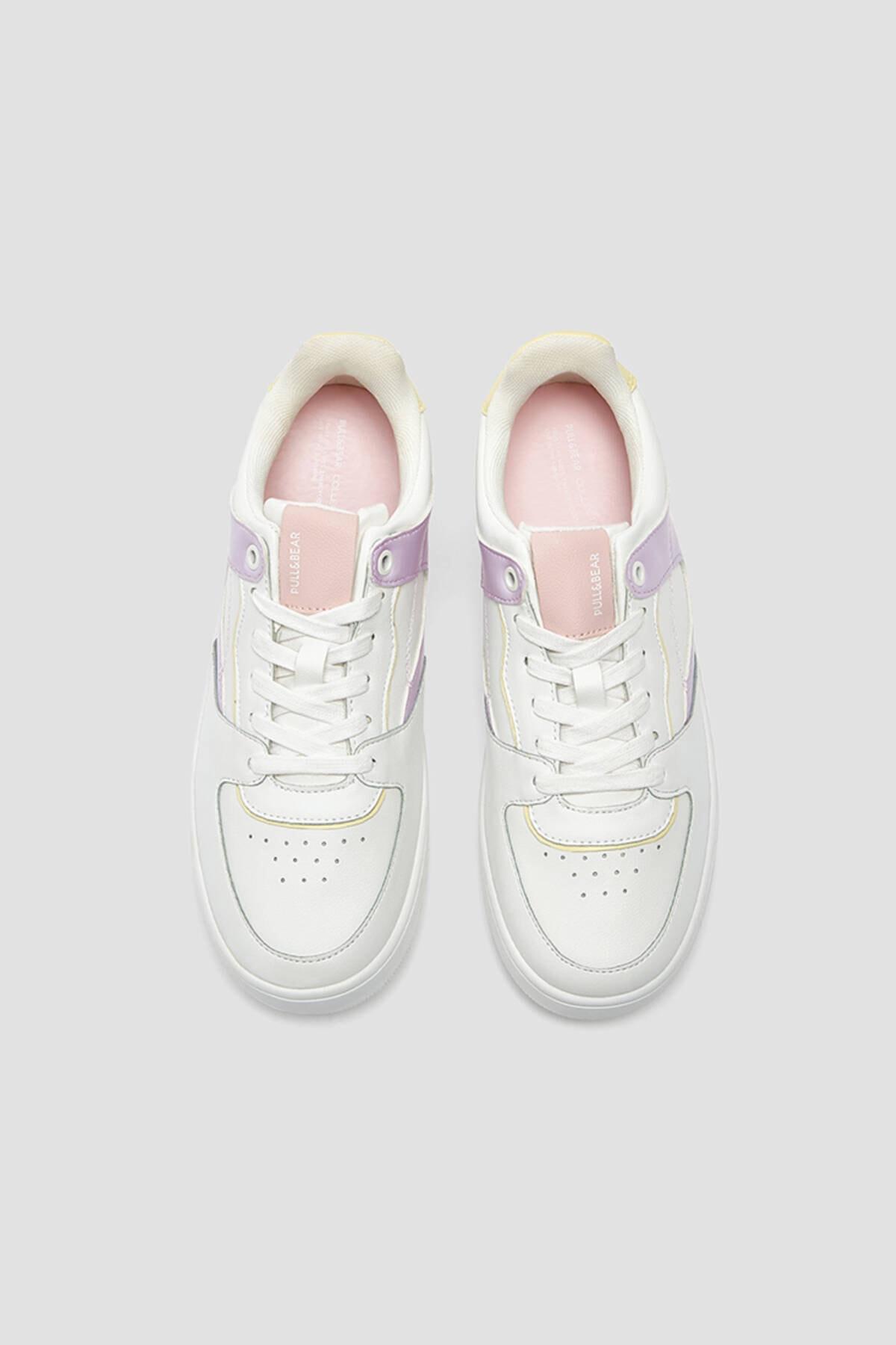 Pull & Bear Kadın Çok Renkli Spor Ayakkabı 11322640 2
