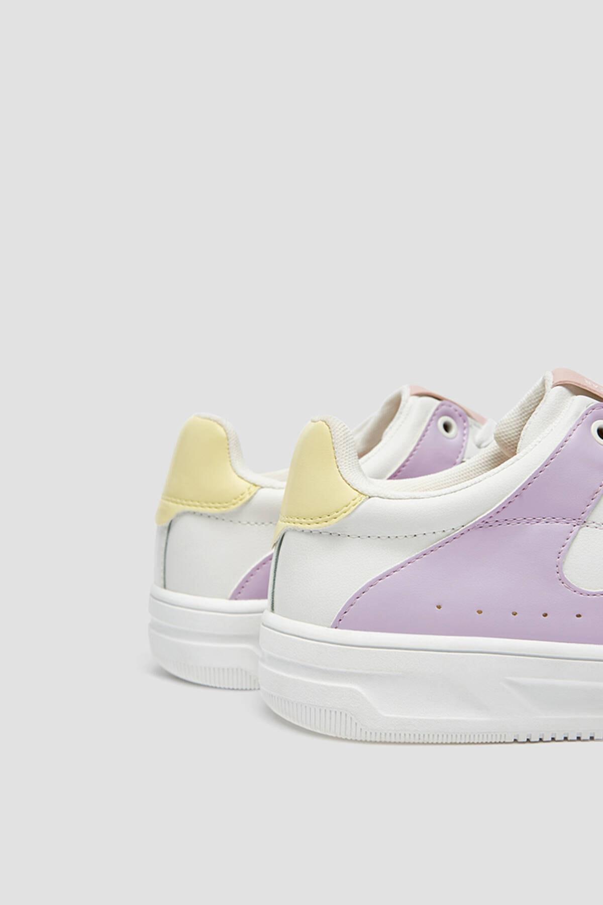 Pull & Bear Kadın Çok Renkli Spor Ayakkabı 11322640 3