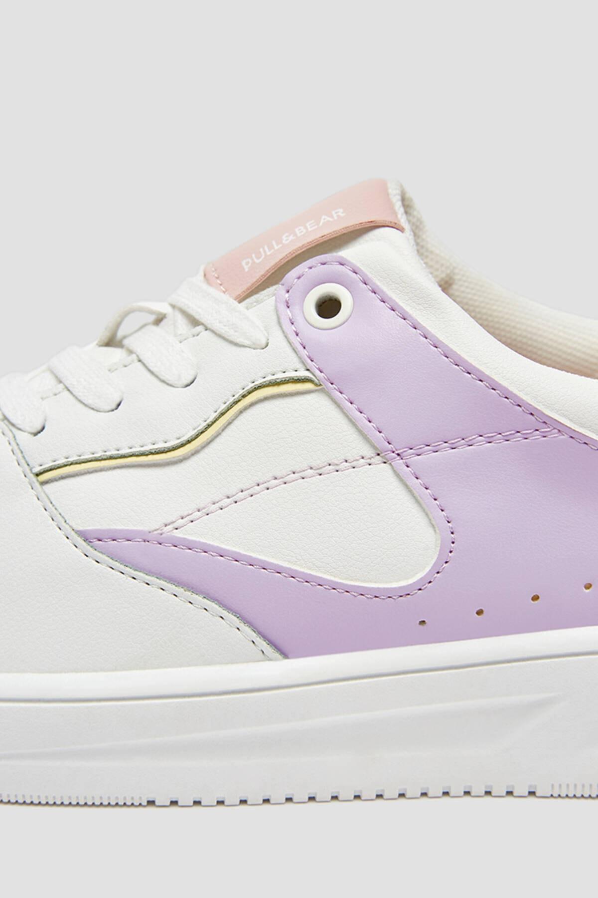 Pull & Bear Kadın Çok Renkli Spor Ayakkabı 11322640 4