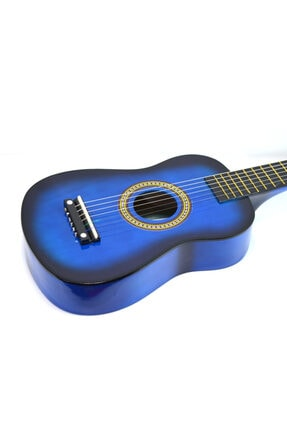 PM Mavi Çocuk Gitar 3-4 Yaş İçin Kılıf Ve Pena 1