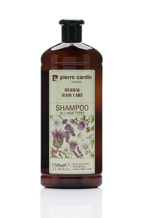 Pierre Cardin Herbal Shampoo For All Hair Types 750 ml Bitkisel Şampuan (Tüm Saç Tipleri) 0