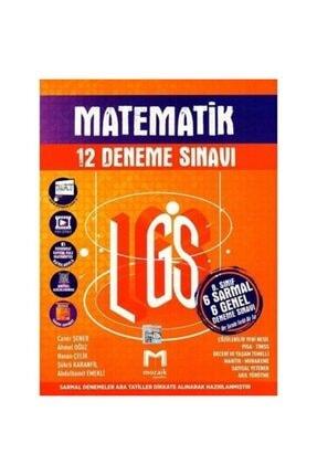 Mozaik Yayınları 8. Sınıf Lgs Matematik 6 Sarmal 6 Genel 12 Deneme Sınavı 0