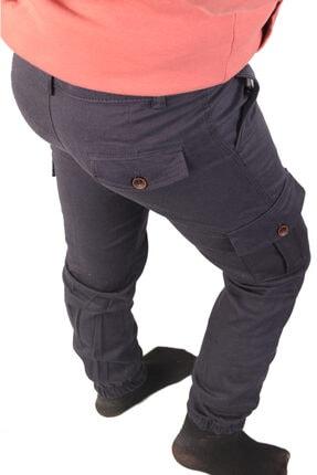Çocuk Pantolon Erkek Kargo Cepli Paça Lastikli Beli Ayarlanabilir Lastik Komando fgt600
