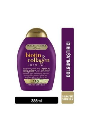 OGX Organix Biotin - Collagen Şampuan 385 ml 1