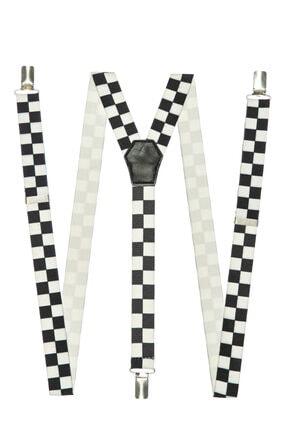 DWOY Kadın Siyah Beyaz Pantolon Askısı 1