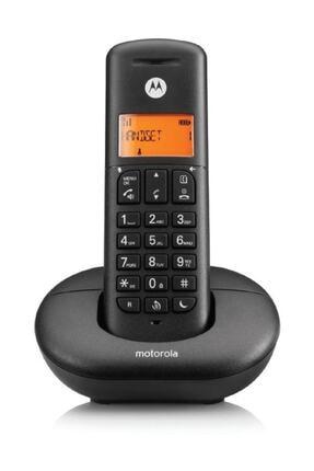 Motorola Siyah E201 Handsfree Dect Telsiz Telefon 0
