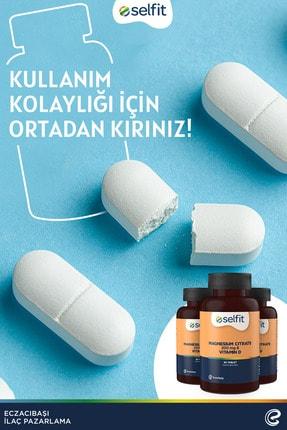 Eczacıbaşı Selfit Magnesium Citrate 200 Mg & D3 Vitamin 60 Tablet 3