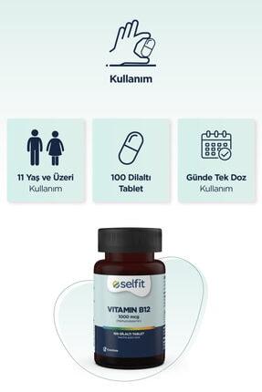 Eczacıbaşı Selfit B12 Vitamin 1000 Mcg 100 Dilaltı Tablet 3