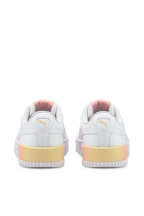 Puma Carina Summer Kadın Günlük Spor Ayakkabı - Beyaz 2