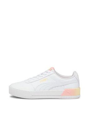 Puma Carina Summer Kadın Günlük Spor Ayakkabı - Beyaz 3