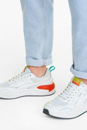 Puma X-RAY² SQUARE RAINBOW Beyaz Erkek Sneaker Ayakkabı 101085338 2