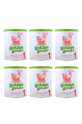Golden Goat 1 Keçi Sütü Bazlı Bebek Sütü 6'lı Paket 0