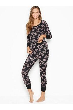 Victoria's Secret Termal Uzun Pijama Takımı 0