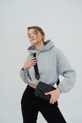 Shule Bags Kolon Askılı Baget Çanta Brenda Siyah 0