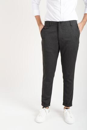 Duble Paça Siyah Erkek Pantolon Taksim 100752001