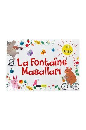 Gendaş Yayınları La Fontaine Masalları Hikaye Seti 10 Kitap 2 ve 3. Sınıf 0