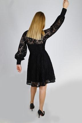 Ahsenserra Gracia Güpür Elbise 4
