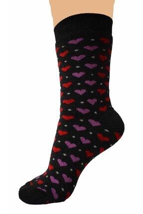 AKKAYA ÇORAP 6 Adet Kalın Çorap, Kadınlar Için Havlu Çorap, Kışlık Çorap 3