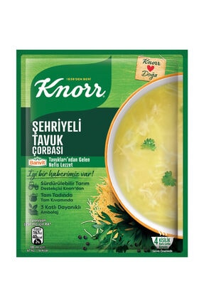 Knorr Şehriyeli Tavuk Çorbas 51 gr 0