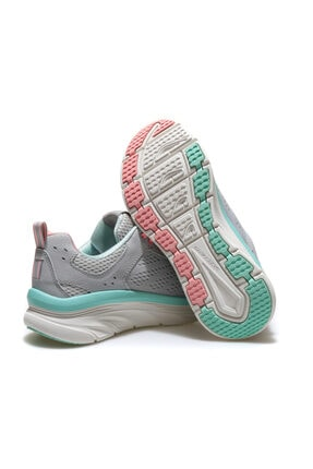 Skechers D'LUX WALKER-INFINITE MOTION Kadın Gri Spor Ayakkabı 2