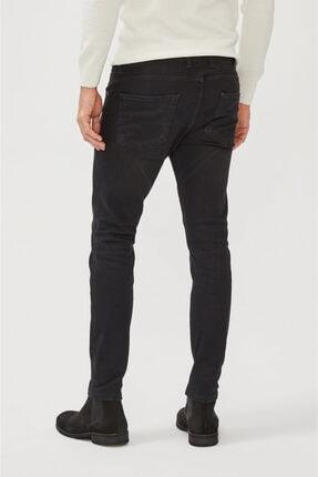 Avva Erkek Siyah Skinny Fit Jean Pantolon E003513 1