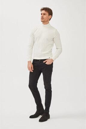 Avva Erkek Siyah Skinny Fit Jean Pantolon E003513 3