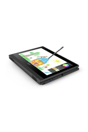 ACER Travelmate Spin B3 Nx.vn2ex.005 Win 10 Pro Dokunmatik-kalemli 2 Si 1 Arada Notebook 2