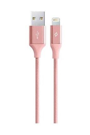 Ttec Alumicable Iphone Uyumlu Lightning Şarj ve Data Kablosu 2dk16 Rosegold 1