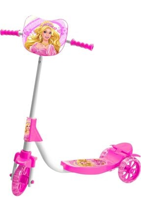 Beren Oyuncak Orjinal 3 Tekerlekli Barbie Prenses Scooter 0
