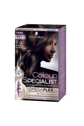 Schwarzkopf Doğal Kahve  Saç Boyası Color Specialist No: 5.0 0