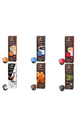Tchibo Cafissimo Kapsül Kahve Avantajlı Paket 6x10 0