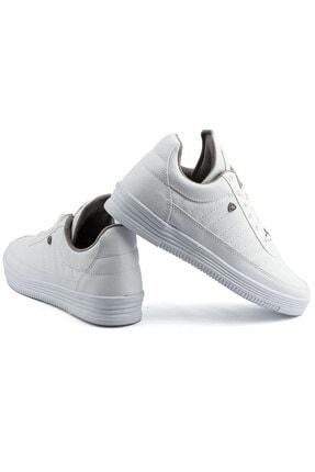 L.A Polo 07 Beyaz Beyaz Dikişli Taban Unisex Spor Ayakkabı 3