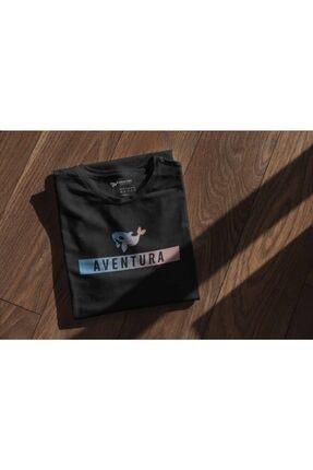 Aventura Clothing Co %100 Pamuk, Regular Fit, Bisiklet Yaka, Baskılı Tshirt - Aventura Essentials 2 4