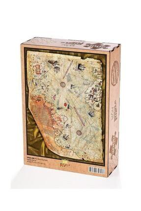 King Of Puzzle Piri Reis Haritası Ahşap Puzzle 2000 Parça 0