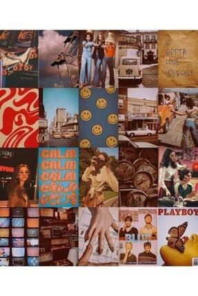 bukashops Vintage Retro 70'lı Duvar Posteri Seti 2
