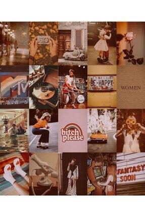 bukashops Vintage Retro 70'lı Duvar Posteri Seti 3