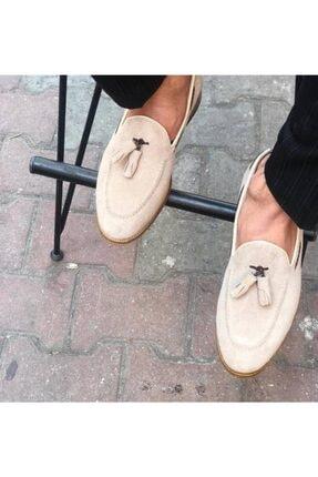 Erkek Ayakkabı Corcik Süet Bej 9150CBS