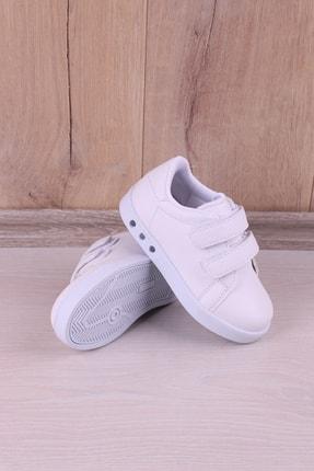 Kidya Erkek Çocuk Beyaz Anatomik Işıklı Spor Ayakkabı 4