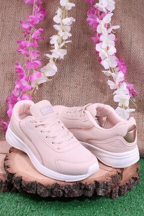 Kinetix Günlük Sneaker Yürüyüş Spor Ayakkabı Pudra 2