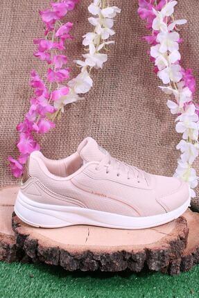 Kinetix Günlük Sneaker Yürüyüş Spor Ayakkabı Pudra 4