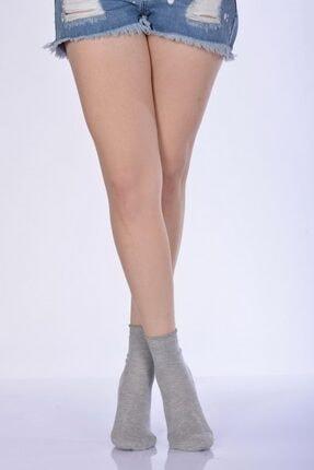 Kadın Gri Soket Çorabı - B-art015 4'lü Paket - B-KAD015-44