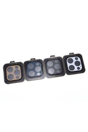 Nezih Case Apple Iphone 12 Pro Max Güçlendirilmiş 3d Full Kamera Koruyucu Mavi 1