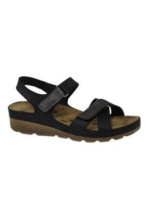 CARLA VERDE Kadın Siyah Sandalet 0