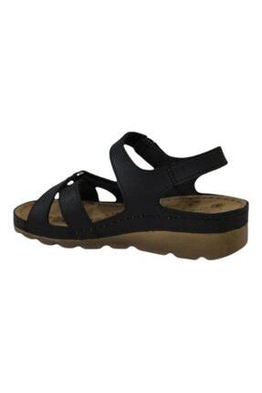 CARLA VERDE Kadın Siyah Sandalet 2