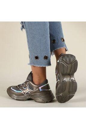 Hammer Jack Platin Kadın Ayakkabı 381 478zn-z 2